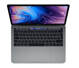 "Apple MacBook Pro 13"" Touch Bar 2018 - 256 Go / Gris sidéral"