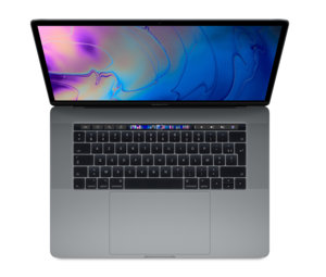"Apple MacBook Pro 15"" Touch Bar 2018 - 256 Go / Gris sidéral"