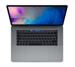 "Apple MacBook Pro 15"" Touch Bar 2019 - 1 To / i7 / 16 Go / Gris sidéral"