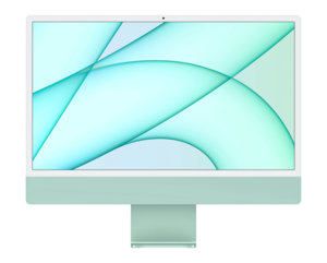 Apple iMac 24 (M1 7c / 8 Go / 256 Go) - Vert