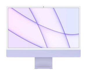 Apple iMac 24 (M1 8c / 8 Go / 256 Go) - Violet