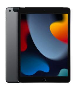 """Apple iPad 10,2"""" - 256 Go + 4G Gris Sidéral (2021 - 9ème gen)"""