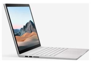 """Microsoft Surface Book 3 13"""" - Intel Core i7 / 16 Go / 256 Go / 1650 Max-Q"""