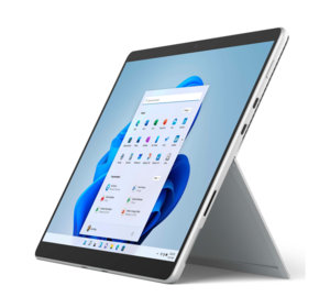 Microsoft Surface Pro 8 - Intel Core i5 / 8 Go / 256 Go (Platine)