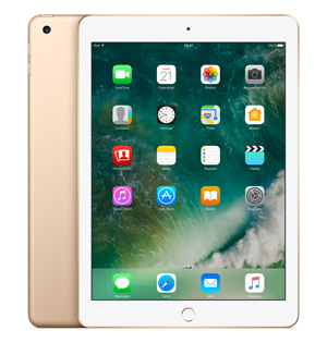 "Apple iPad 9.7"" 128 Go WiFi + 4G Or (2017)"