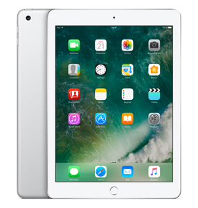 "Apple iPad 9.7"" 128 Go WiFi + 4G Argent (2017)"