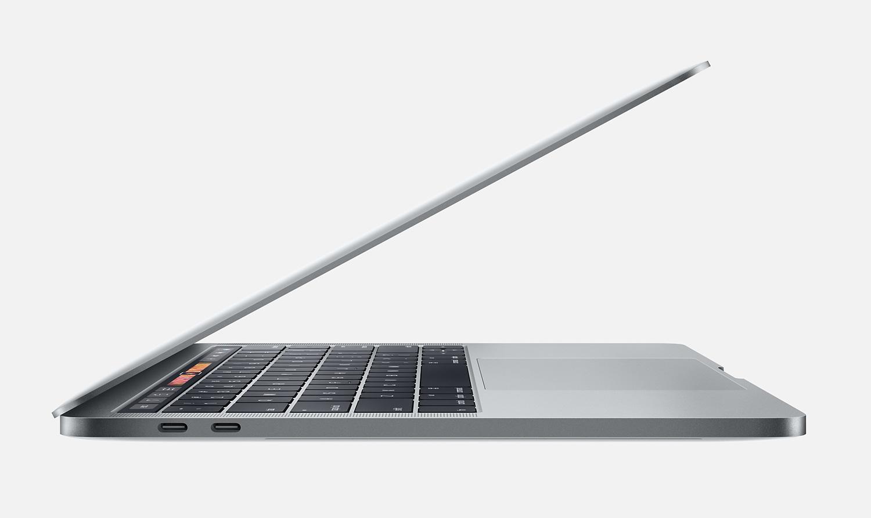 apple macbook pro 13 touch bar 2017 256 go gris. Black Bedroom Furniture Sets. Home Design Ideas