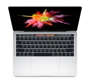 "Apple MacBook Pro 13"" Touch Bar 2017 - 256 Go / Argent"