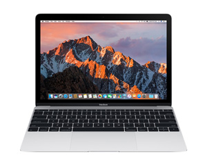 "Apple MacBook 12"" 2017 MNYH2FN/A - 256 Go / Argent"