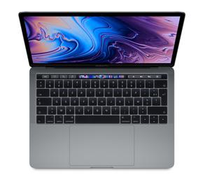 "Apple MacBook Pro 13"" Touch Bar 2018 - 512 Go / Gris sidéral"