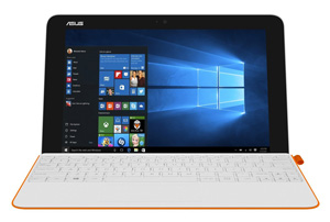 Asus Transformer Mini - Blanc / Orange 64 Go
