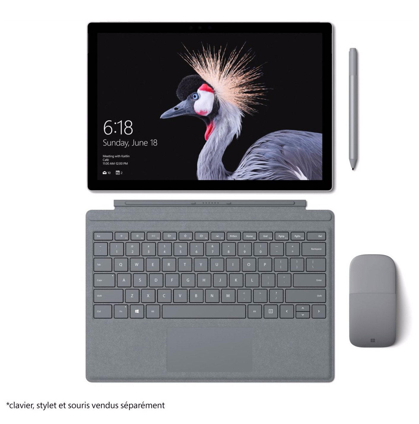 microsoft surface pro 5 i5 128 go 4 go achetez au meilleur prix. Black Bedroom Furniture Sets. Home Design Ideas