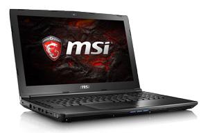 MSI GL62 7QF-1665XFR